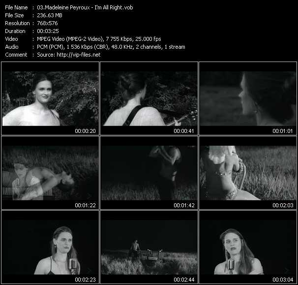 Madeleine Peyroux video screenshot