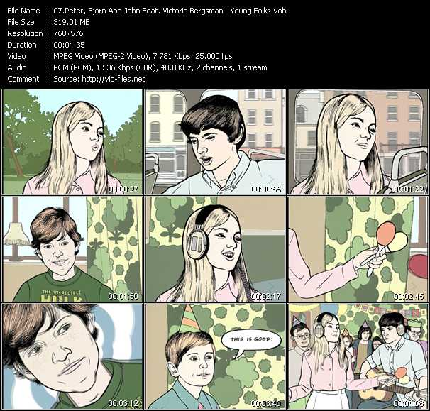 Peter Bjorn And John Feat. Victoria Bergsman video screenshot