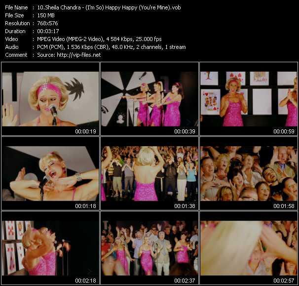 Sheila Chandra video screenshot