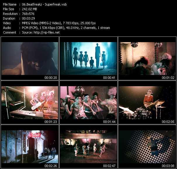 Beatfreakz video screenshot