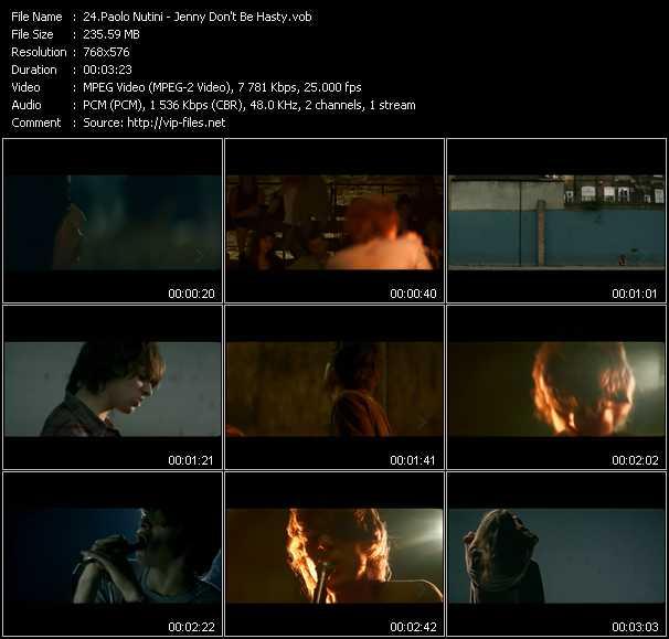 Paolo Nutini video screenshot