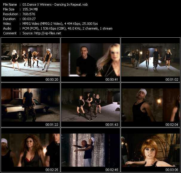 Dance X Winners video screenshot