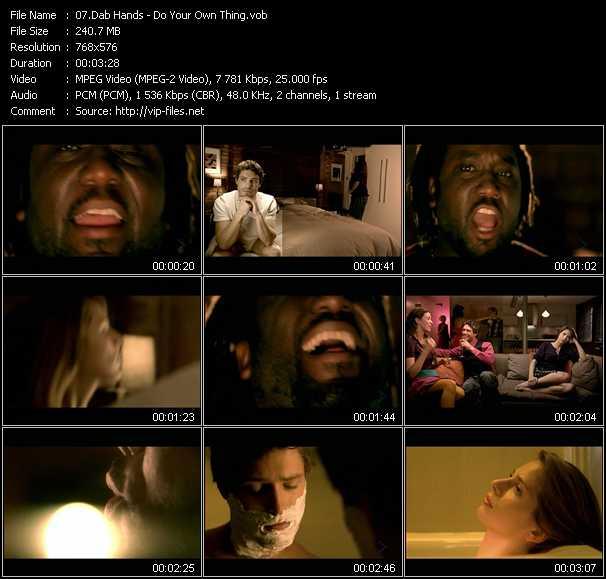 Dab Hands video screenshot