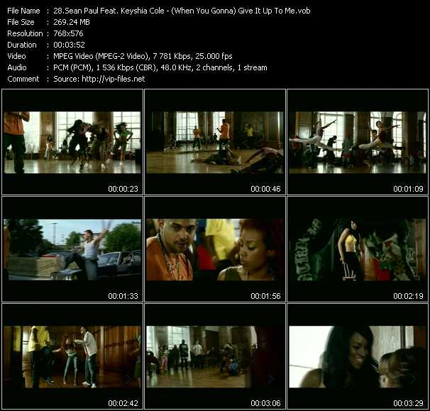 Sean Paul Feat. Keyshia Cole video screenshot
