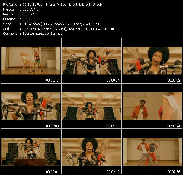 Se-Sa Feat. Sharon Phillips video screenshot