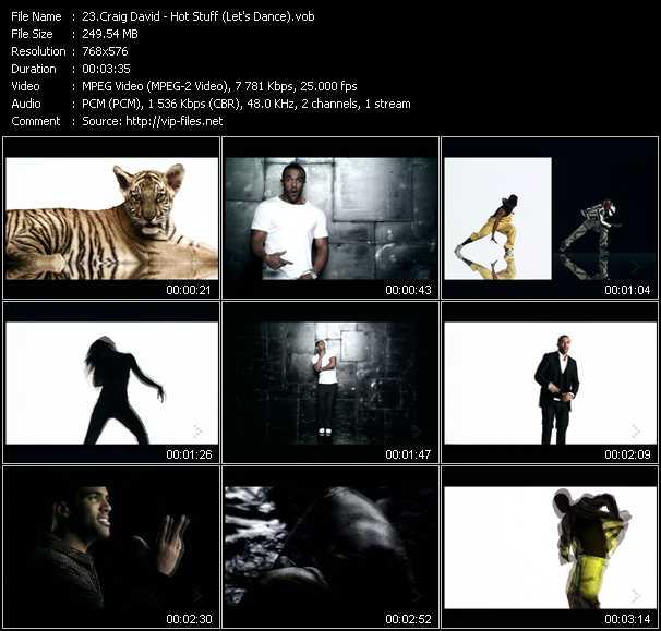 video Hot Stuff (Let's Dance) screen