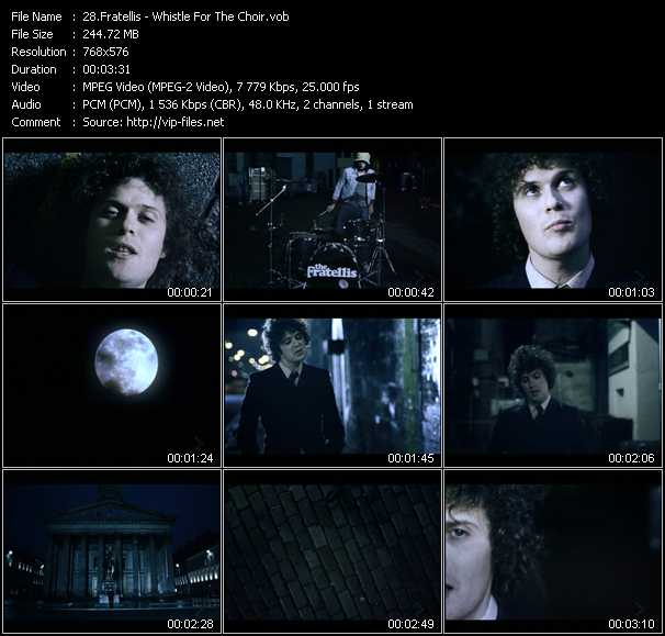 Fratellis video screenshot