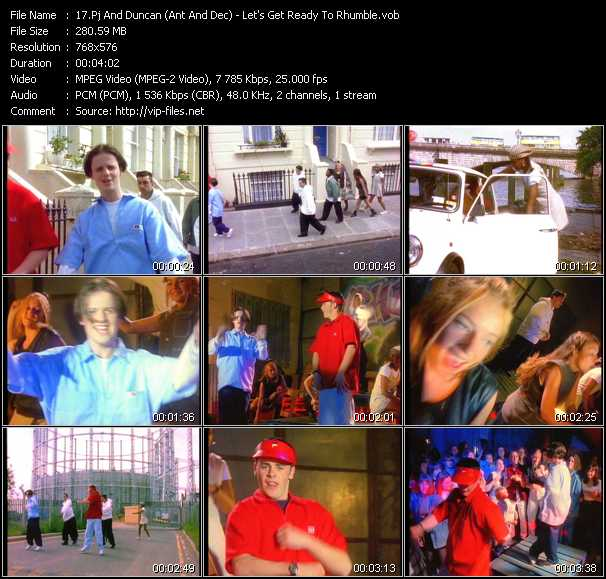 Pj And Duncan (Ant And Dec) video screenshot