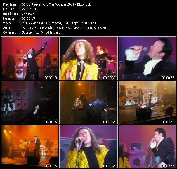 Vic Reeves And The Wonder Stuff video screenshot