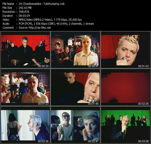 Chumbawamba video screenshot