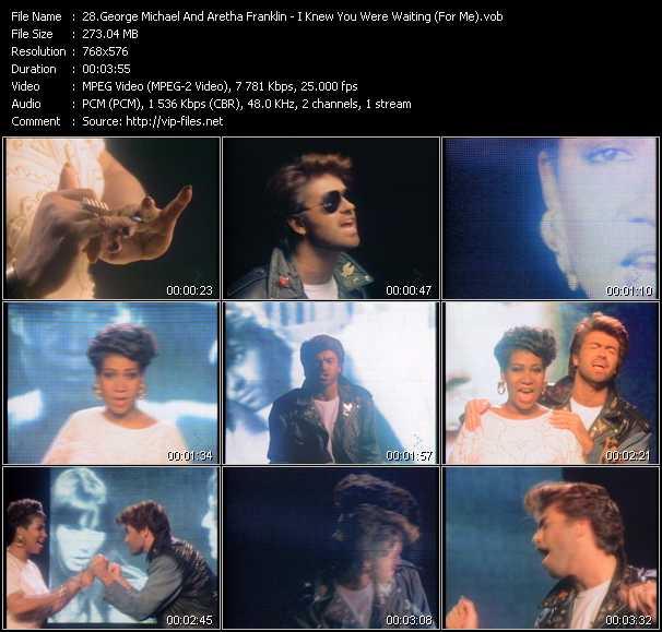George Michael And Aretha Franklin video screenshot