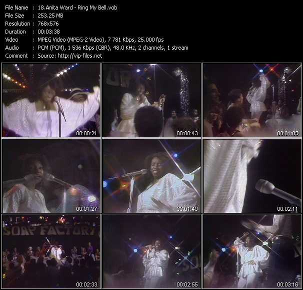 Anita Ward video screenshot