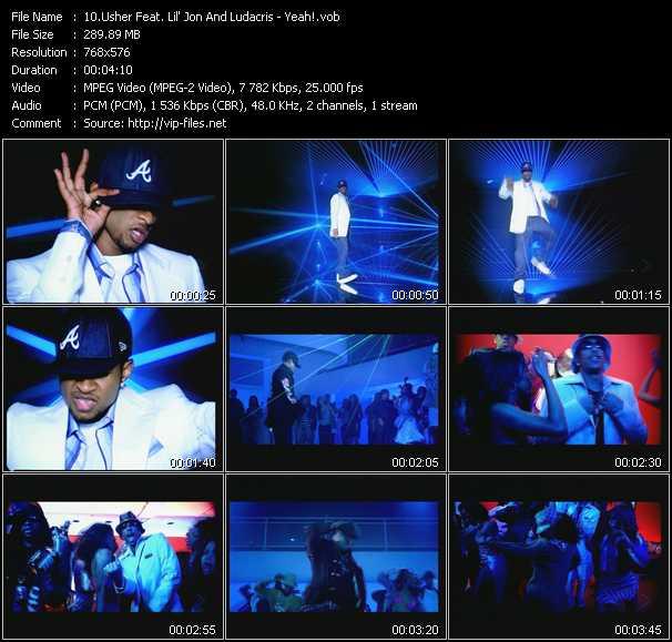Usher Feat. Lil' Jon And Ludacris video screenshot