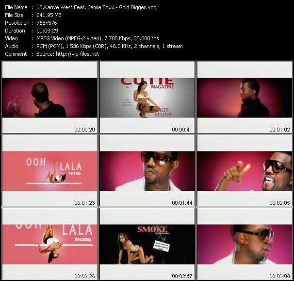 Kanye West Feat. Jamie Foxx video screenshot