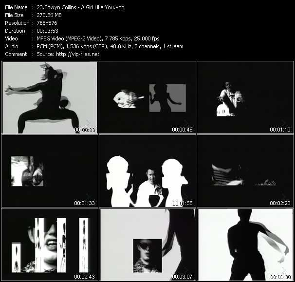 Edwyn Collins video screenshot