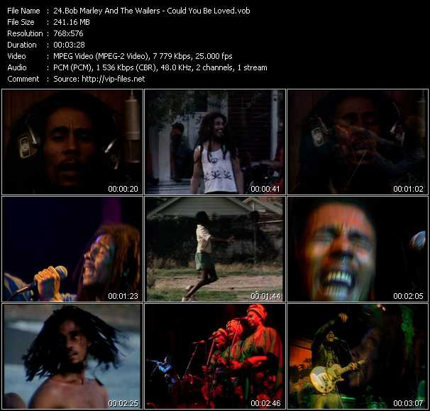 Bob Marley And The Wailers video screenshot