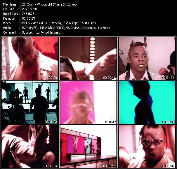 Clock video screenshot