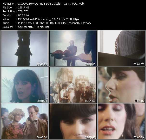 Dave Stewart And Barbara Gaskin video screenshot