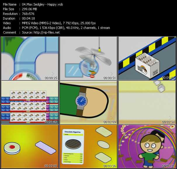 Max Sedgley video screenshot
