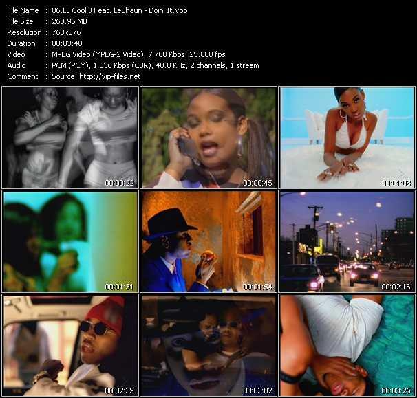 LL Cool J Feat. LeShaun video screenshot