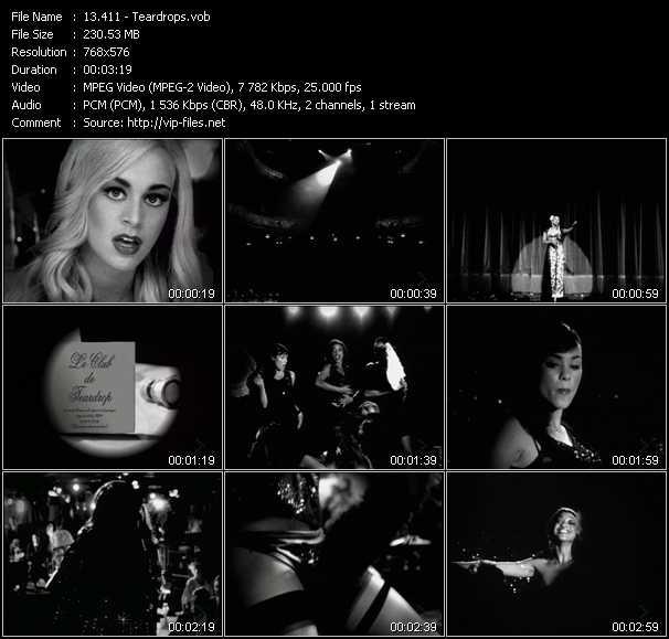video Teardrops screen