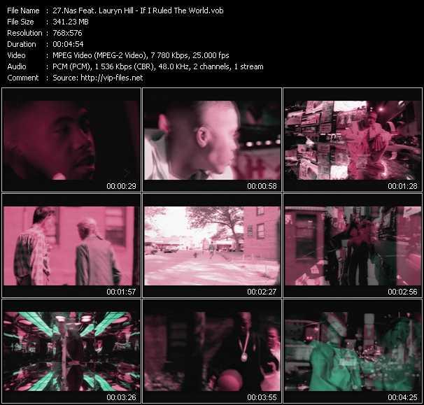 Nas Feat. Lauryn Hill video screenshot