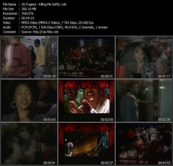 Fugees video screenshot