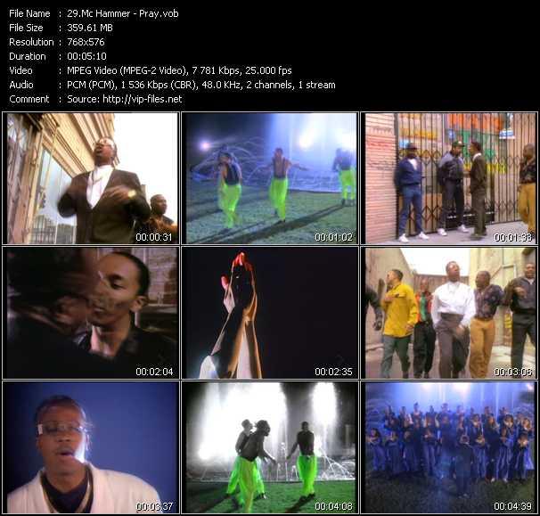 video Pray screen
