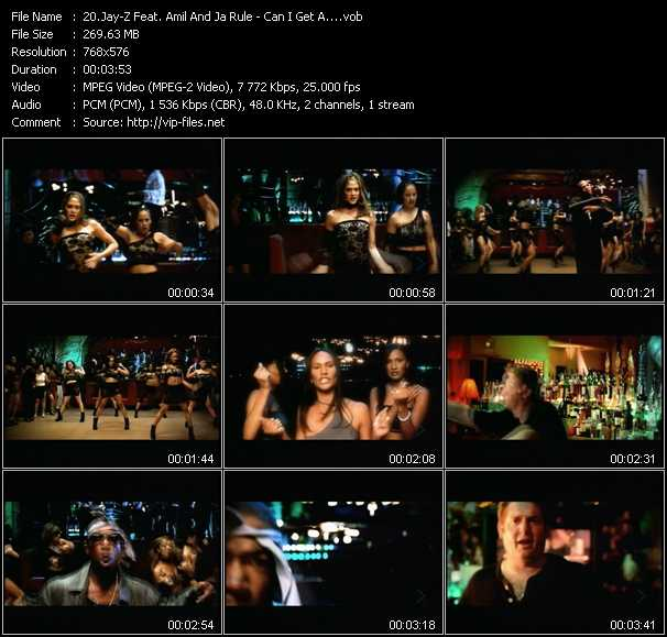 Jay-Z Feat. Amil And Ja Rule video screenshot