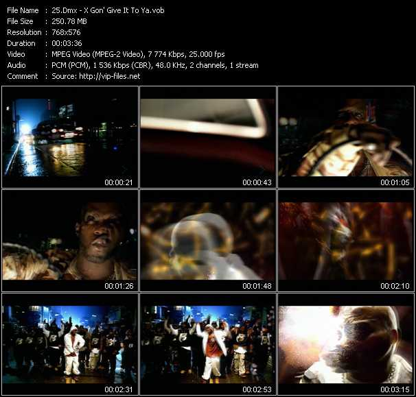 Dmx video screenshot