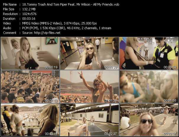 Tommy Trash And Tom Piper Feat. Mr Wilson video screenshot