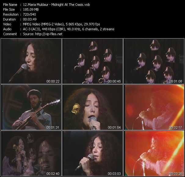 Maria Muldaur video screenshot