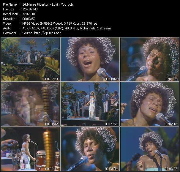 Minnie Riperton video screenshot