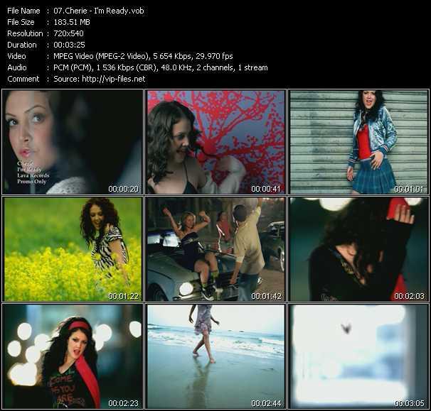 Cherie video screenshot