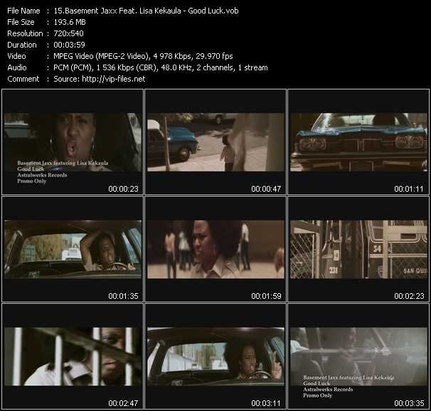 Basement Jaxx Feat. Lisa Kekaula video screenshot