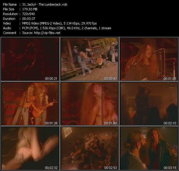 Jackyl video screenshot