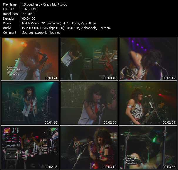 Loudness video screenshot