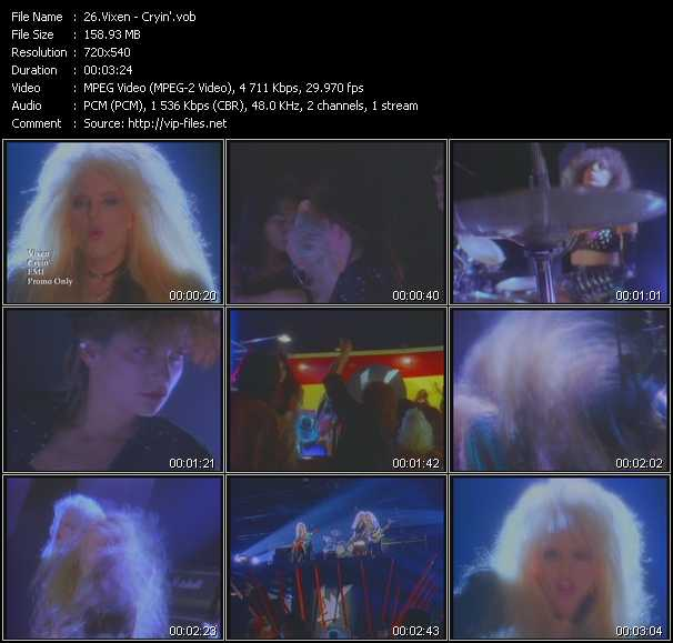 Vixen video screenshot
