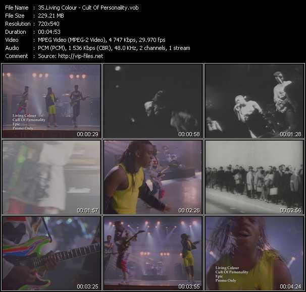 Living Colour video screenshot