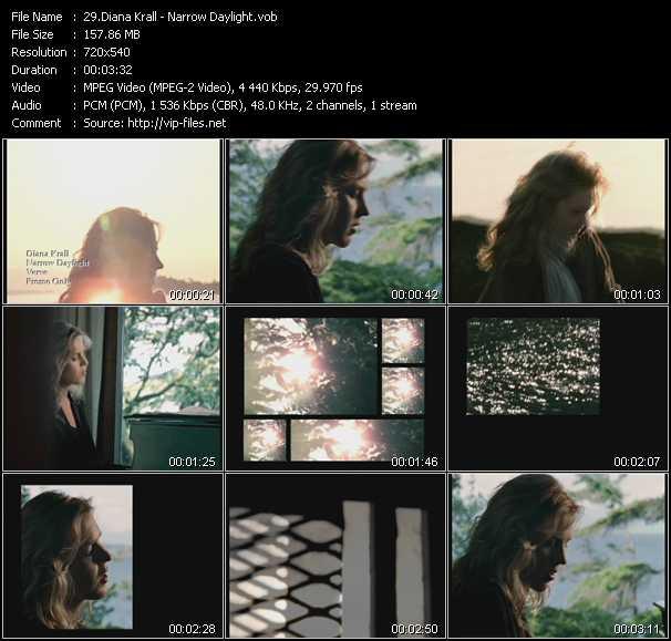 Diana Krall video screenshot