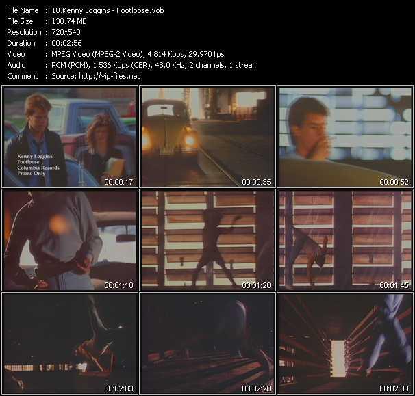 video Footloose screen