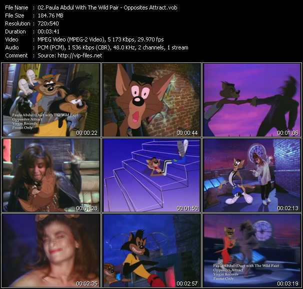 Paula Abdul (Duet With The Wild Pair) video screenshot