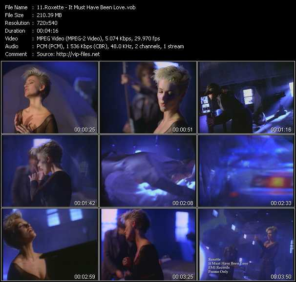 video It Must Have Been Love screen