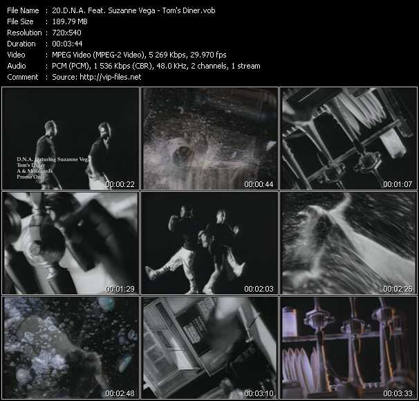 D.N.A. Feat. Suzanne Vega video screenshot