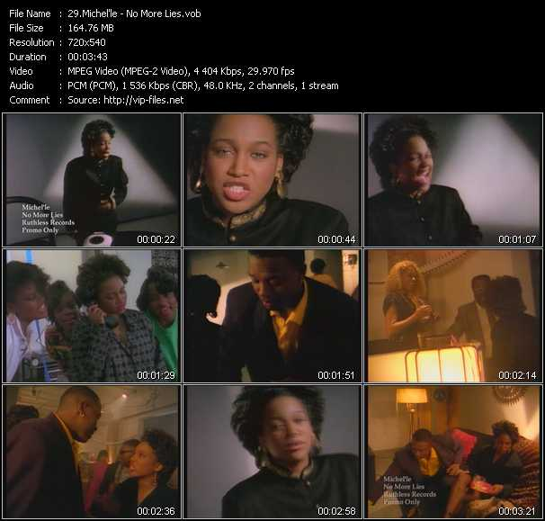 Michel'le video screenshot