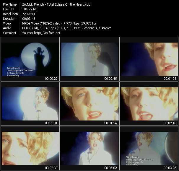 Nicki French video screenshot