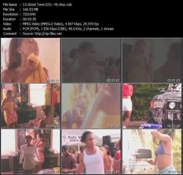Ghost Town DJ's video screenshot
