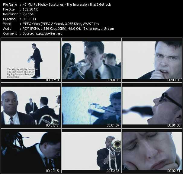 Mighty Mighty Bosstones video screenshot