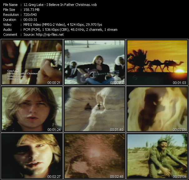 Greg Lake video screenshot
