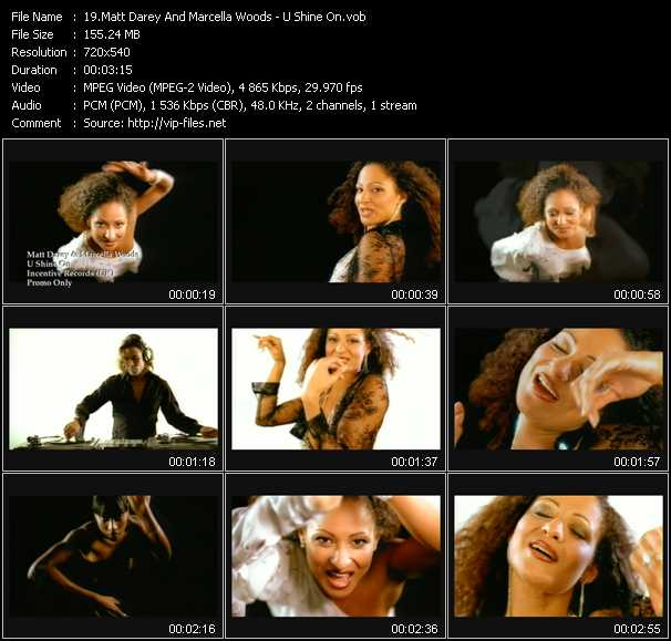 Matt Darey And Marcella Woods video screenshot